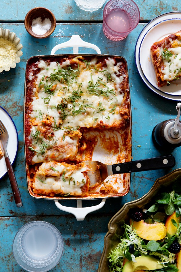 Casual Dining | Lasagna | via Bakers Royale