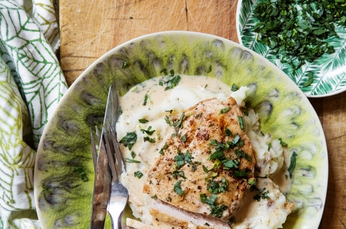 One Skillet Creamy Chicken | Bakers Royale