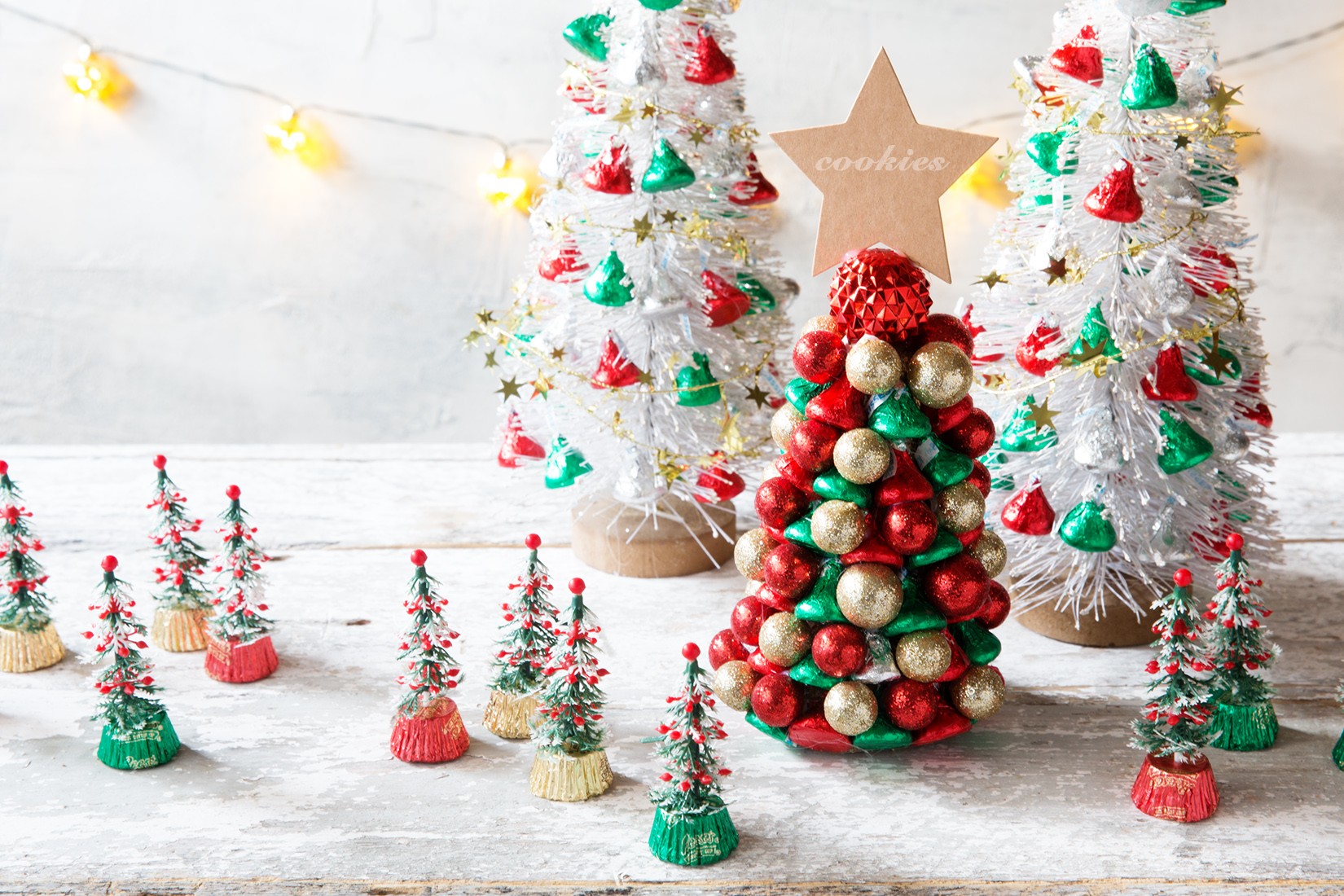 Candy Christmas Trees Bakers Royale