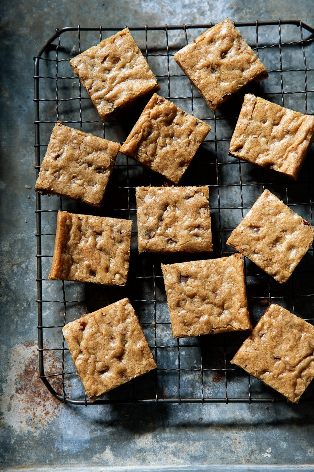 Coffee Blondies