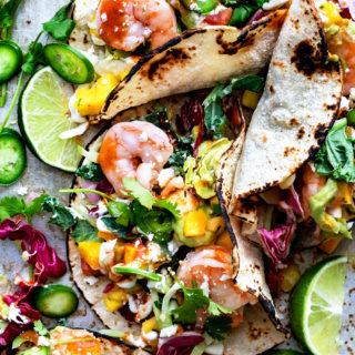 Shrimp Tacos | Bakers Royale