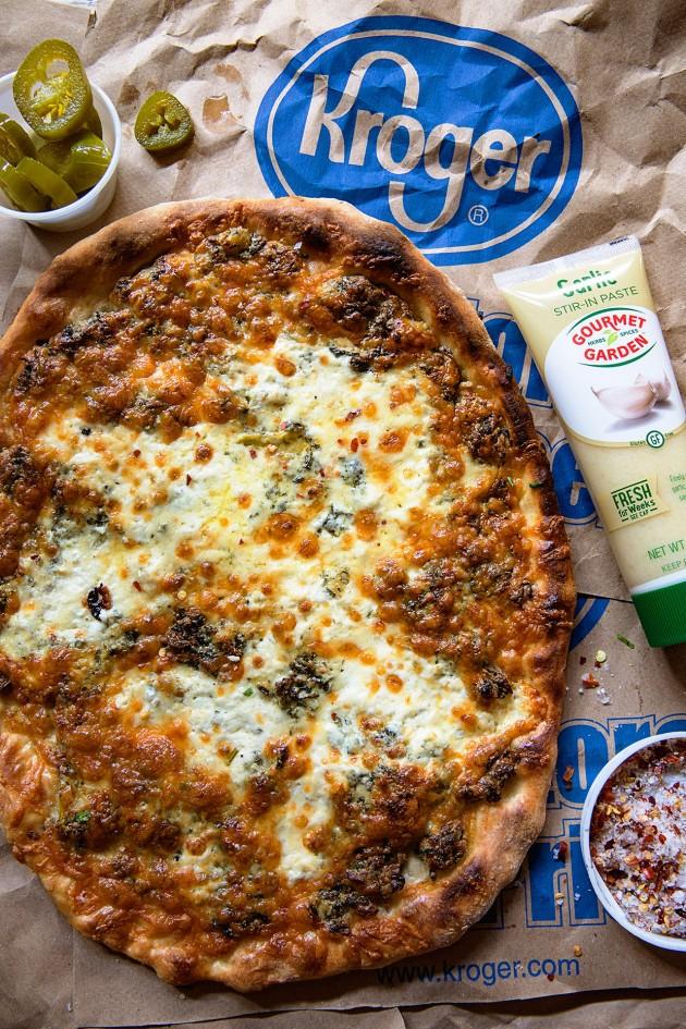 Gourmet Garden Spinach and Artichoke Dip Prep via Bakers Royale