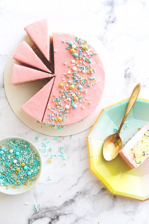 Mini Sprinkle Cake _ Bakers Royale