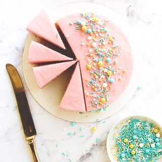 Mini Sprinkle Cake via Bakers Royale