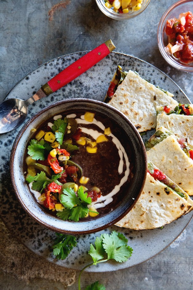 Meal delivery one potato box dinner in 30 minutes or less one potato box black bean soup and quesadilla bakers royale forumfinder Choice Image