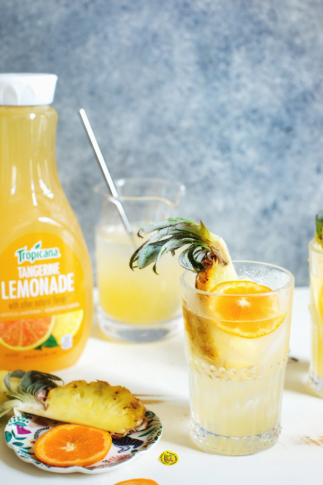 Tropical Citrus Collins via Bakers Royale
