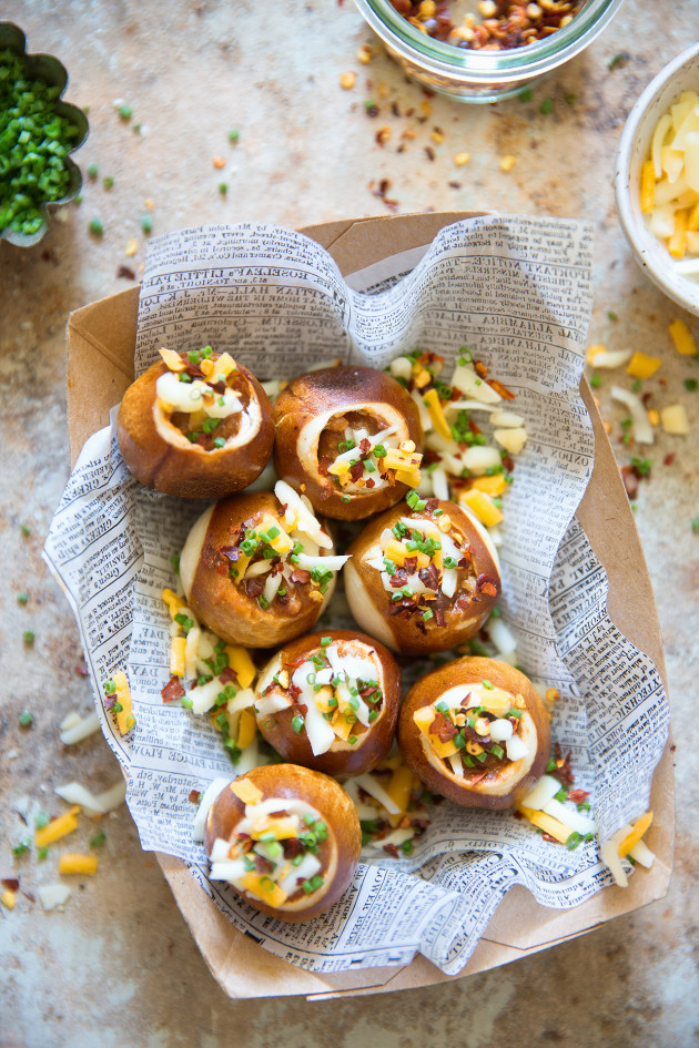 Mini Chili Bowl Bites _ Bakers Royale