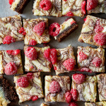 Chocolate Raspberry Ooey Gooey Bars | Bakers Royale