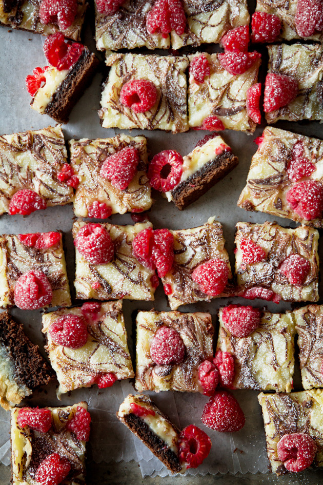 Chocolate Raspberry Ooey Gooey Bars