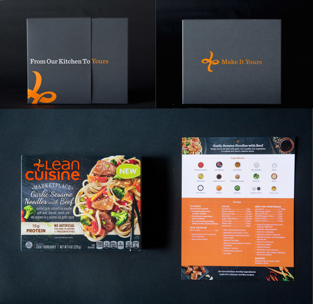 Lean Cuisine Gift Box with Recipe Card