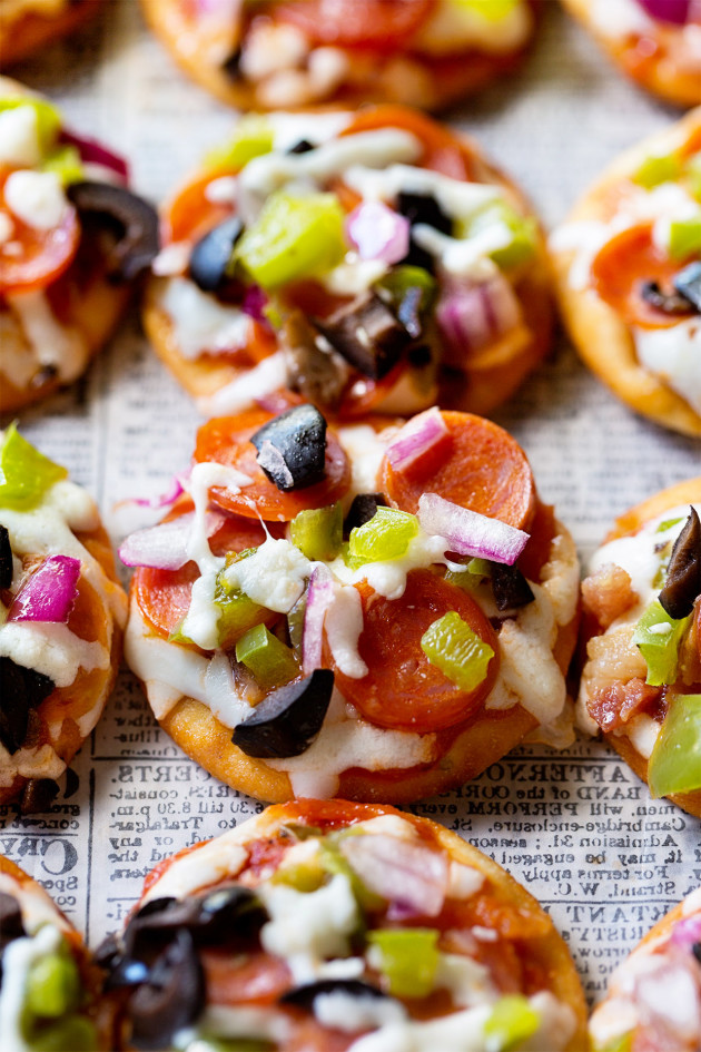 Mini Pizza Bites - Bakers Royale copy