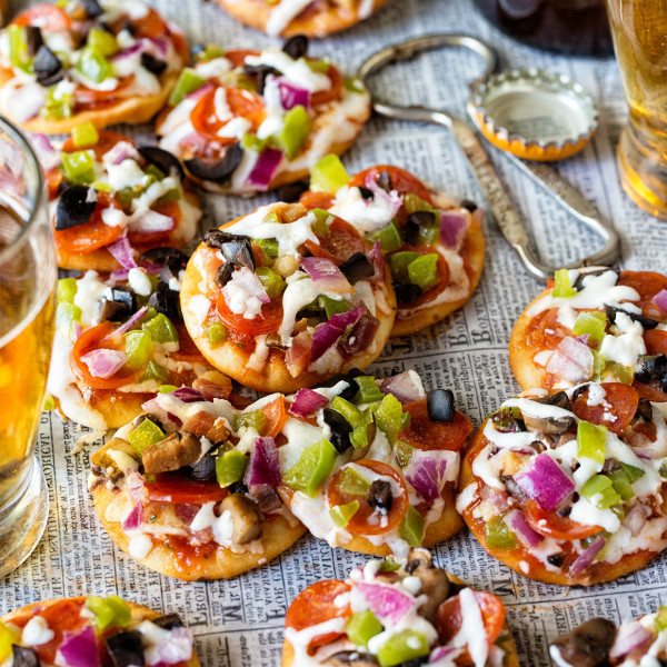 Mini Pizza Bites Bakers Royale1 600x600