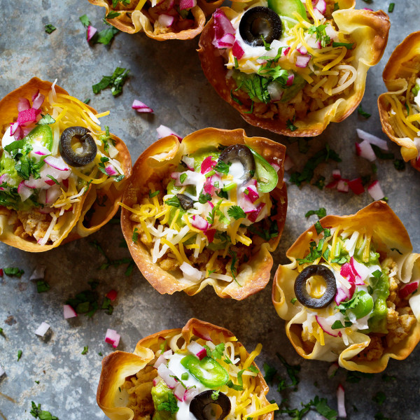 Mini Taco Bowls Bakers Royale 600x600