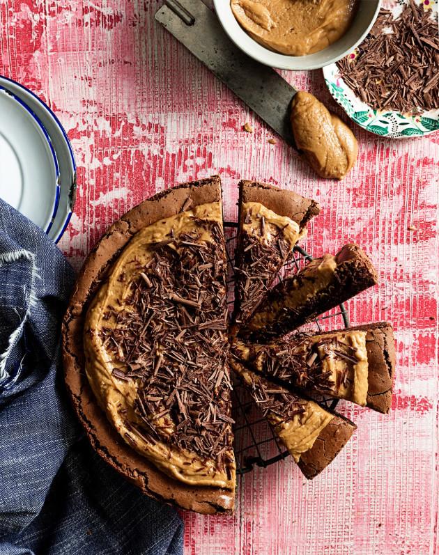Speculoos Brownie Cake