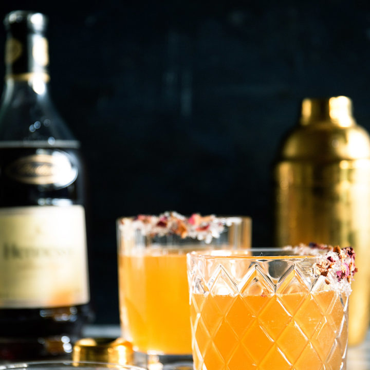 Citrus Rose Sidecar