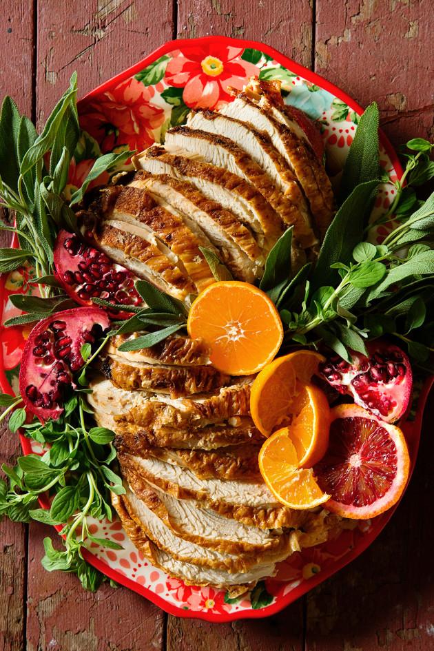 Healthy-ish Thanksgiving via Bakers Royale