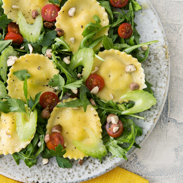 Golden Beet Ravioli Salad Bakers Royale copy 600x600