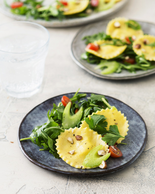 Golden Beet Ravioli Salad - Bakers Royale