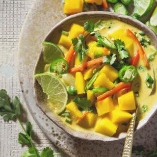Mango Coconut Curry Soup | Bakers Royale