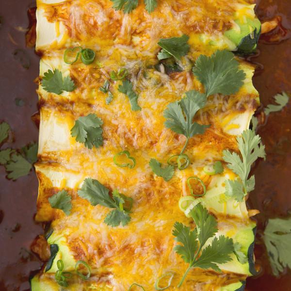 Zucchini Enchiladas | Bakers Royale