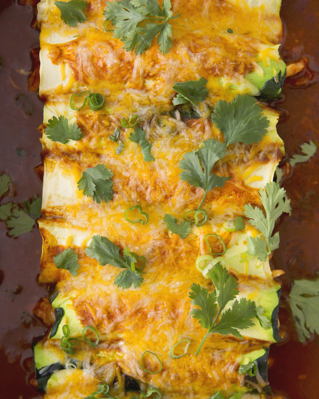 Zucchini Enchiladas | Bakers Royale