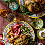Cornish Hen - Valentine's Dinner for Two via Bakers Royale