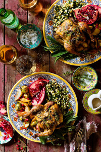 Cornish Game Hen {Valentine's Day Dinner for Two}