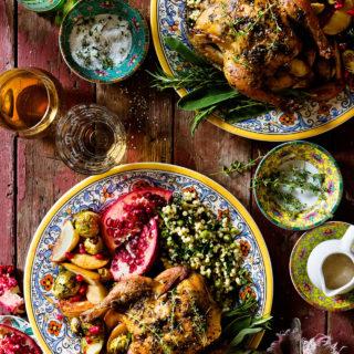 Cornish Hen - Valentine's Dinner for Two via Bakers Royale