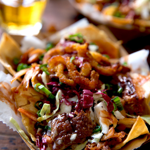 Southern BBQ Nachos - Bakers Royale