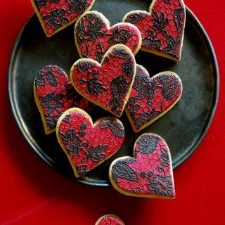 Lace Sugar Cookies via Bakers Royale