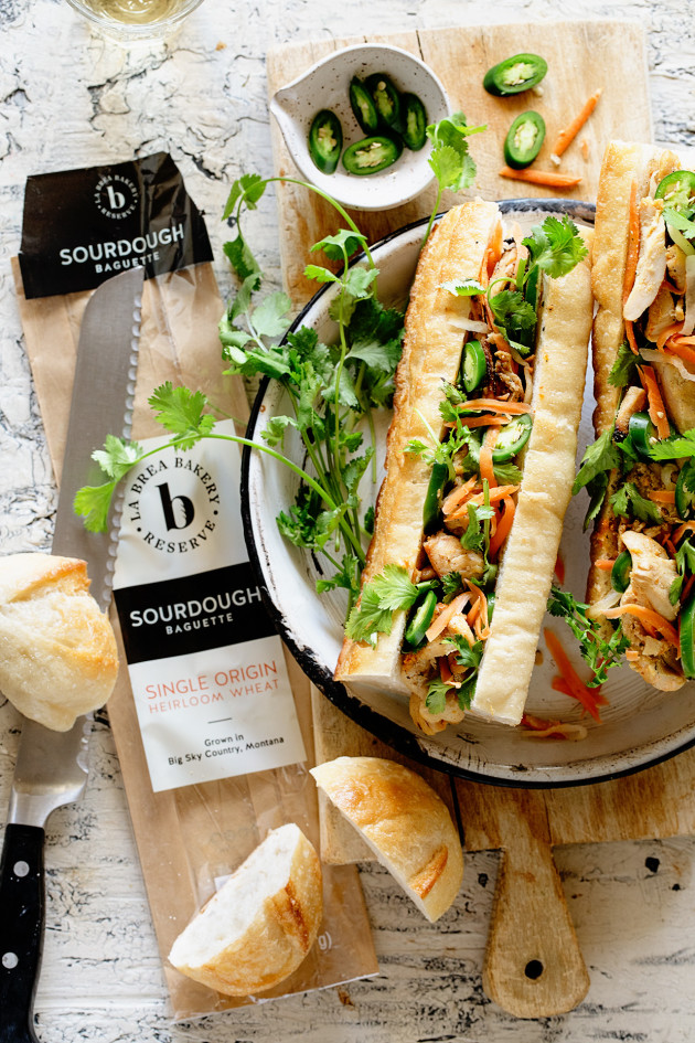 Grilled Chicken Banh Mi | Bakers Royale