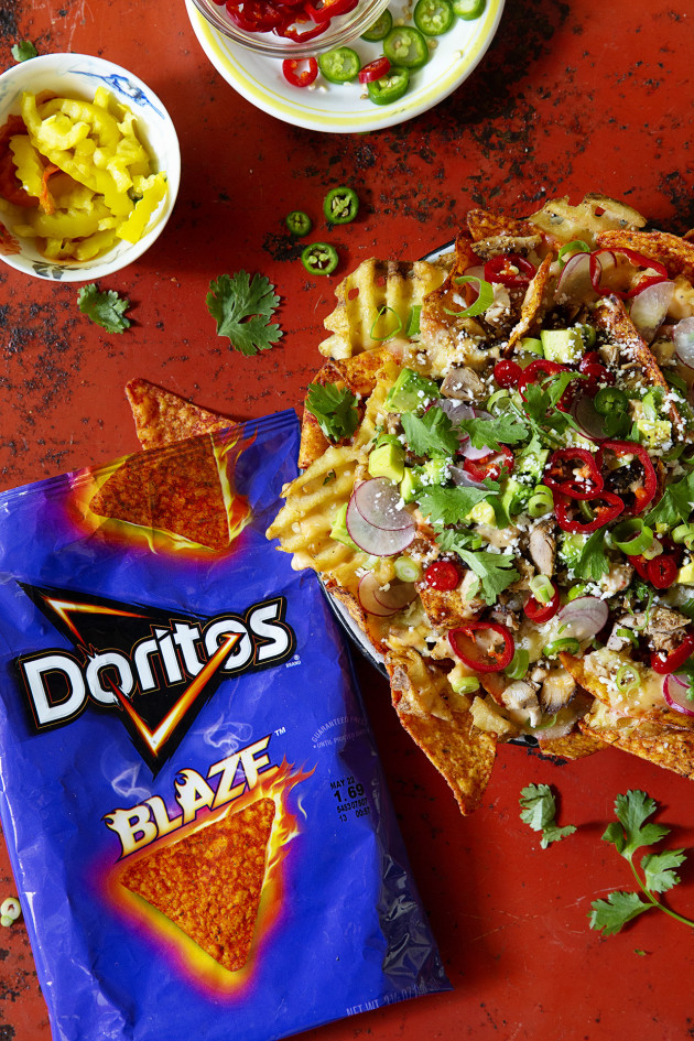 Fully Loaded Doritos Blaze Nacho | Bakers Royale