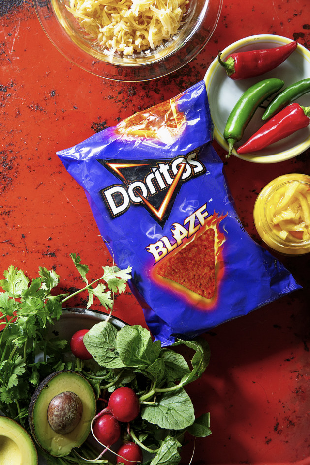 Fully Loaded Doritos Blaze Nacho_Ingredients_Bakers Royale