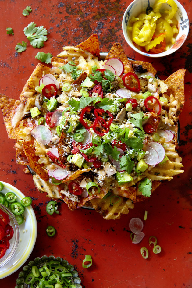 Fully Loaded Doritos® Blaze® Nachos