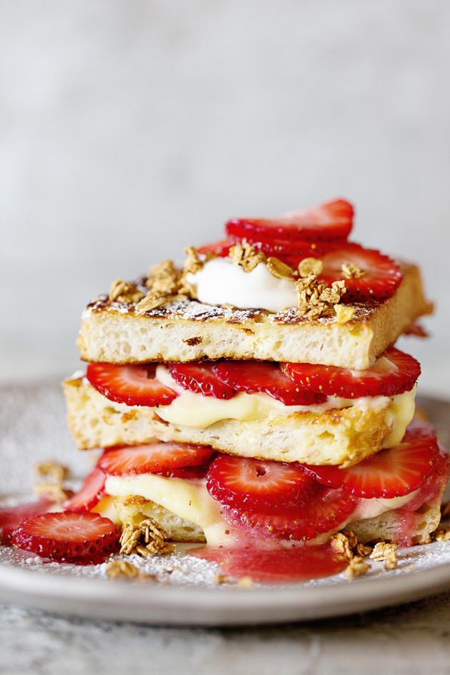 Strawberry Shortcake French Toast | Bakers Royale