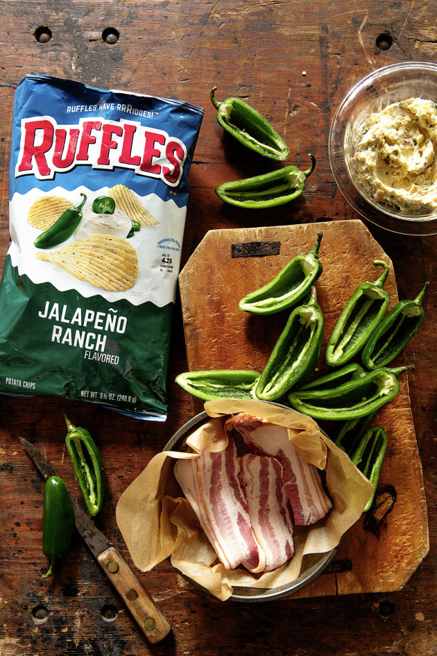 Ruffles Jalapeno and Ranch Poppers Ingredients_Bakers Royale