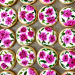 Hand-painted Flower Cookies | Bakers Royale