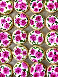 Hand Painted Cookies for JOANN Stores