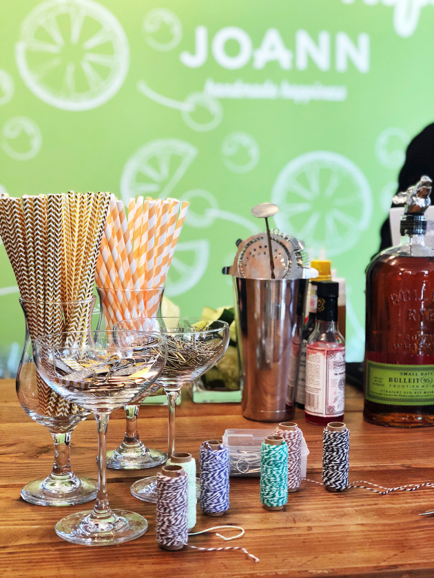 JOANN | Cocktail Crafting Station NYC Event 2018 (2)