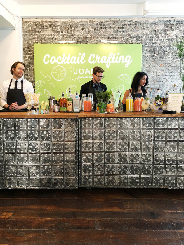 JOANN | Cocktail Crafting Station NYC Event 2018
