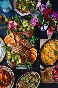 Thanksgiving Dinner with Harry and David Gourmet Foods