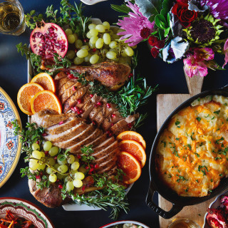 Traditional Thanksgiving Dinner 2018 via Bakers Royale