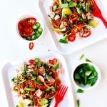 Tuna Satay Noodles via Bakers Royale
