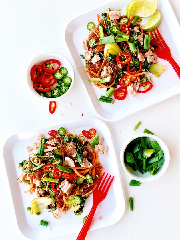 Tuna Satay Noodles