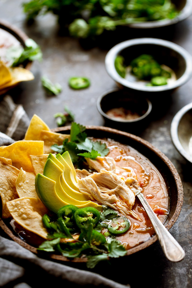Chicken Tortilla Soup - Bakers Royale