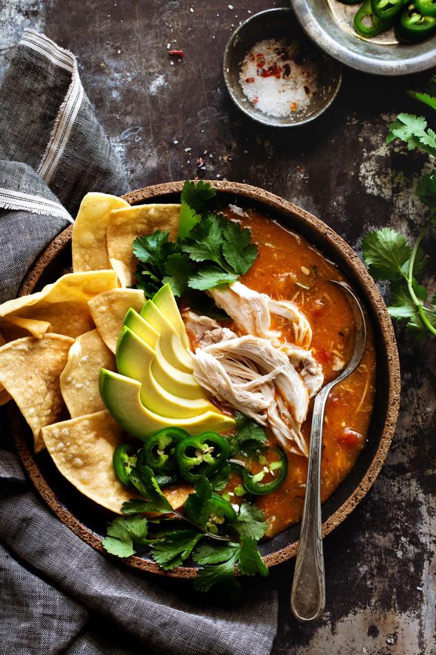 Chicken Tortilla Soup via Bakers Royale