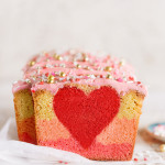 3 Valentine's Peek-a-Boo Ombre Cake | Bakers Royale