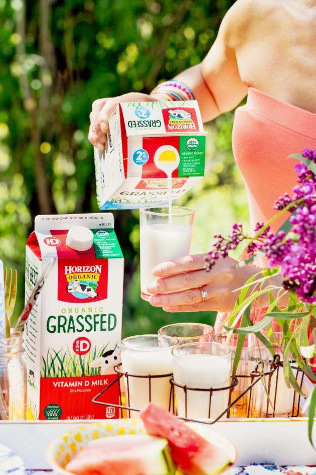 Horizon Grass Fed Milk - Naomi Robinson