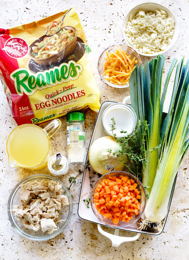 Chicken Noodle Casserole   Ingredients   Bakers Royale