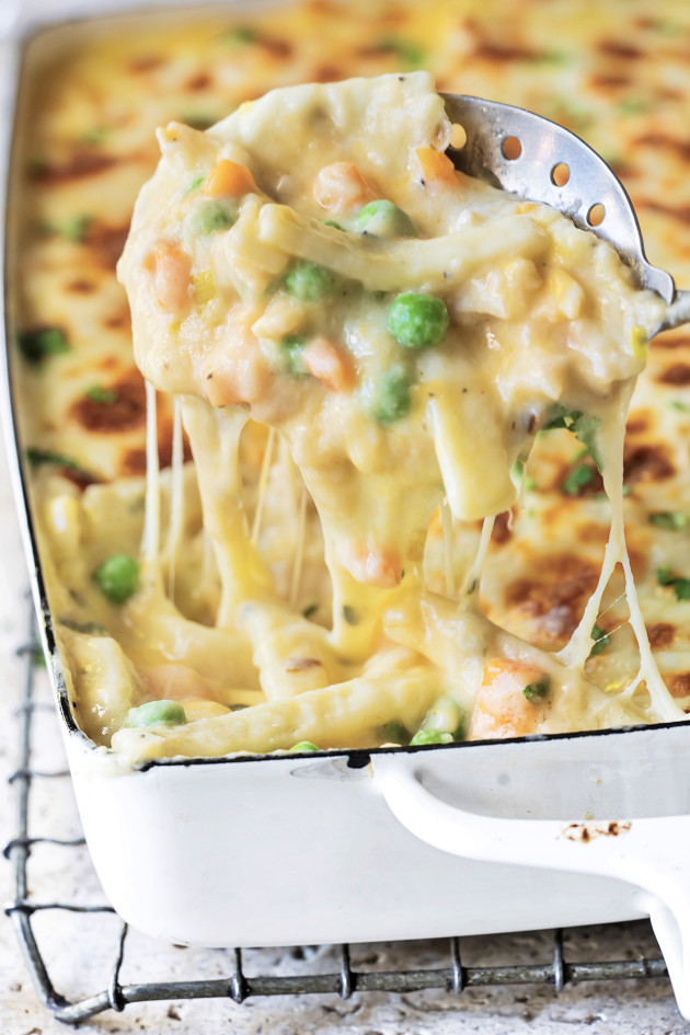 Chicken Noodle Casserole via Bakers Royale